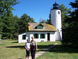Michigan Island (Old) Lighthouse