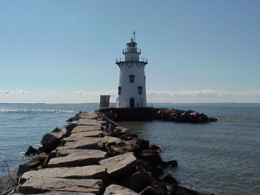 Saybrook Breakwater Lighthouse
