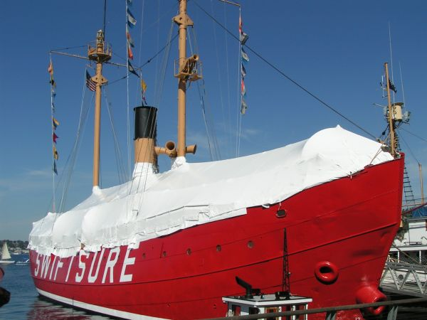 Lightship No. 83 - Swiftsure