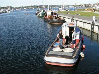 Tugs at Historic Ships Wharf