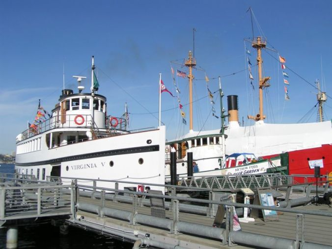 Virginia V, Arthur Foss, and Lightship No. 83