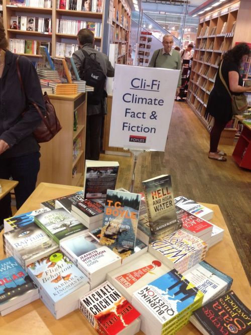Climate fiction books