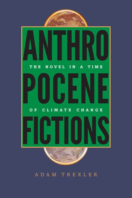 Cover for Anthropocene Fictions