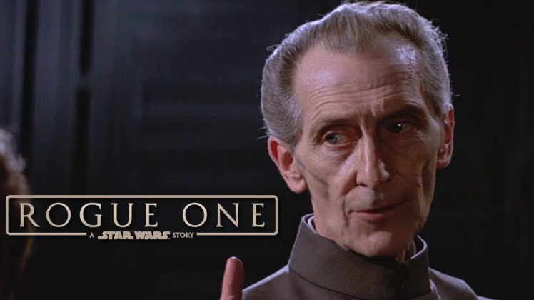 Grand Moff Tarkin - Peter Cushing