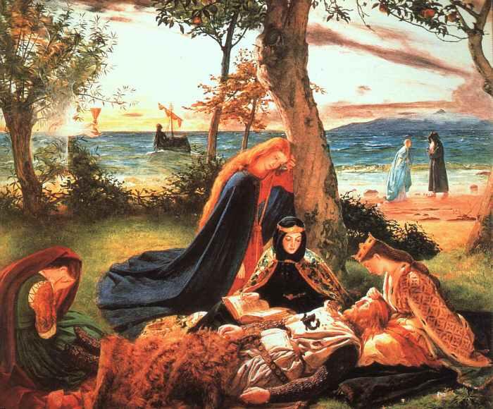 King Arthur painting