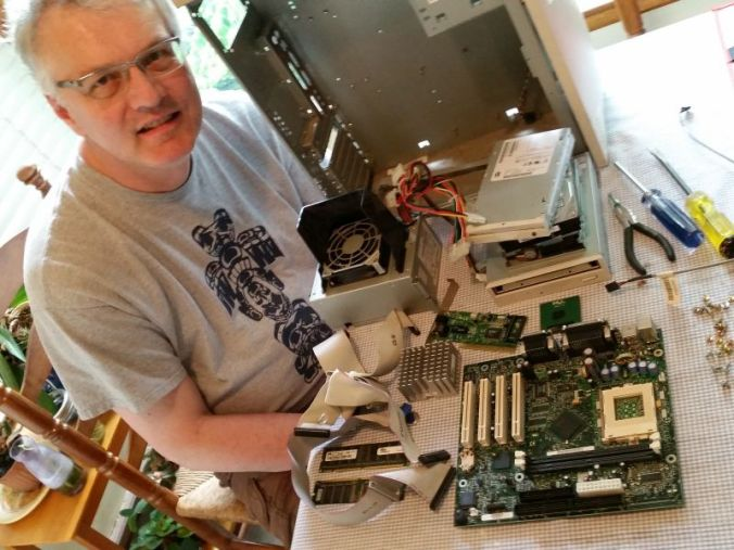 Taking apart a computer