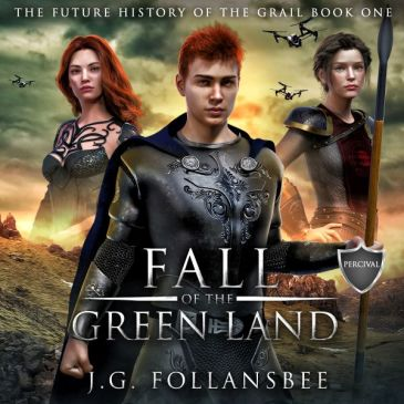 fall of the green land cover