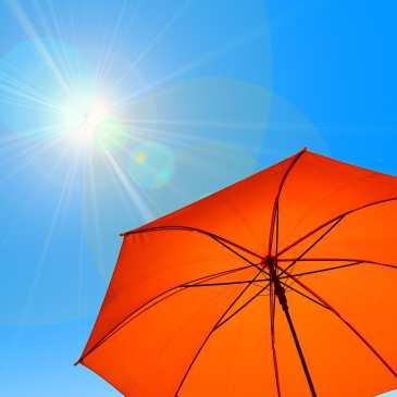 sun and parasol