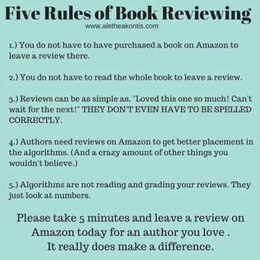 Five rules of book reviewing