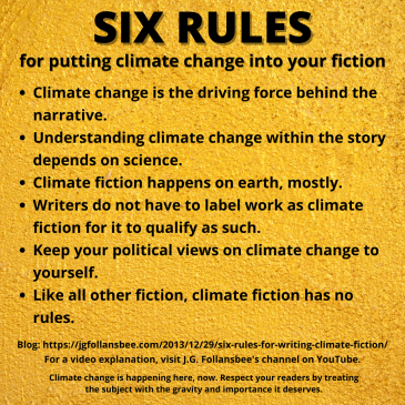 Six rules for putting climate change into your fiction
